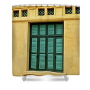 window to Vietnam Shower Curtain