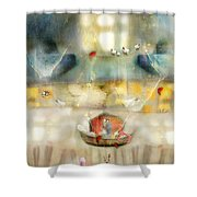 Windows And Openings Shower Curtain