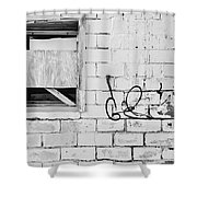 Windows And Tags Shower Curtain