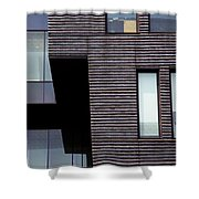 Windows Boxed Shower Curtain