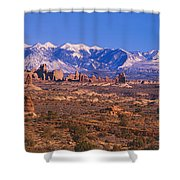 Windows Section, Arches National Park Shower Curtain