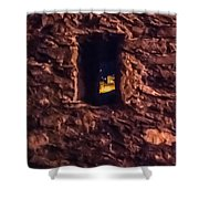 Windows To Castles Shower Curtain