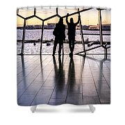 Windowscape Shower Curtain