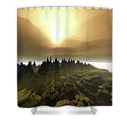 Windrift Shower Curtain