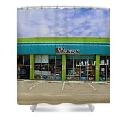 Winds Of Ft Myers II Shower Curtain