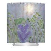 Windsitter Spring Breeze Shower Curtain