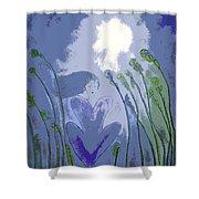 Windsitter Mystical Breeze Shower Curtain