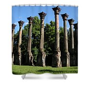 Windsor Mansion 1 Shower Curtain