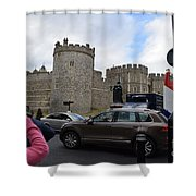 Windsor Castle #1 Shower Curtain