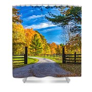 Windstone Farm Shower Curtain