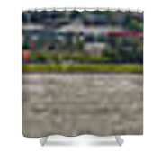 Windsurfing Capital Shower Curtain