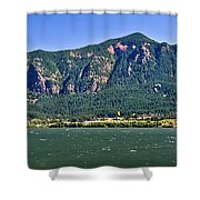 Windsurfing In The Gorge Shower Curtain