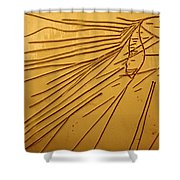 Windswept - Tile Shower Curtain