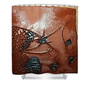 Windswept- Tile Shower Curtain