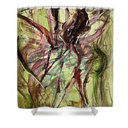 Windy Day Shower Curtain by Ikahl Beckford