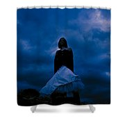 Windy Mistery Shower Curtain