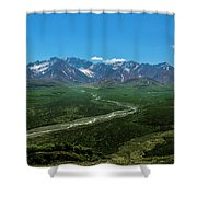 Windy River Shower Curtain