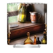 Wine - Care For A Nip Shower Curtain