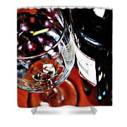 Wine And Dine 1 Shower Curtain