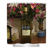 Wine Anytime Shower Curtain