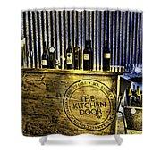 Wine Bazaar Shower Curtain