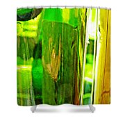Wine Bottles 21 Shower Curtain