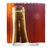 Wine Bottles 4 Shower Curtain