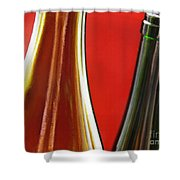 Wine Bottles 7 Shower Curtain