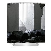 Wine Cellar Shower Curtain