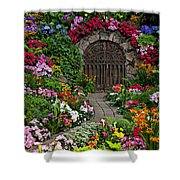 Wine Celler Gates  Shower Curtain