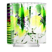 Wine Country Ambiance Shower Curtain