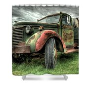 Wine Delivery Shower Curtain