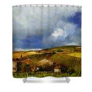 Wine Vineyard Shower Curtain