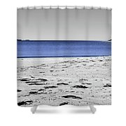 Wineglass Bay Sc Shower Curtain