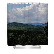 Winery Hlils Shower Curtain