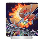 Wing Commander 1992 Shower Curtain