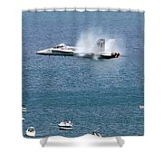 Wing Plume Shower Curtain