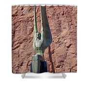 Winged Figures Of The Republic Shower Curtain