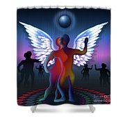 Winged Life Shower Curtain