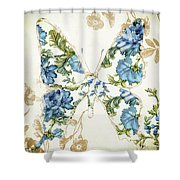 Winged Tapestry Iv Shower Curtain