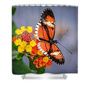 Winged Tiger Shower Curtain