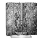 Winged Weeder II Shower Curtain