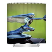 Winged Woman Shower Curtain