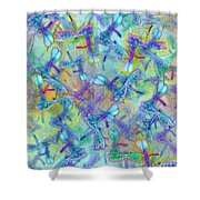 Wings IIi Large Image Shower Curtain