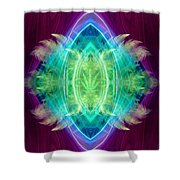 Wings Of Consciousness Shower Curtain