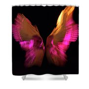 Wings Of Death Shower Curtain