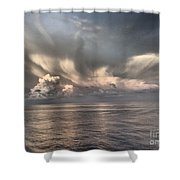 Wings Of Dove Shower Curtain