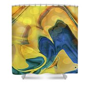 Wings Of The Dove Shower Curtain