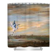 Wings Of The Morning  Shower Curtain