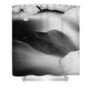 River Angle Shower Curtain